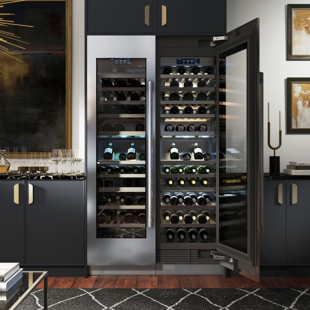 Ravasy_Signature Kitchen - 24 inch WineColumn_Hero_68